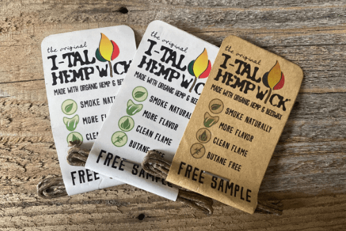 Hemp Wick is a Healthier Alternative to Using a Lighter